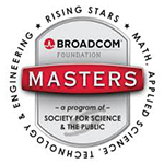 Akash Verma made it to the TOP 300 in the prestigious 2019 Broadcom MASTERS STEM competition