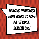 Bringing Technology From School To Home: Parent Academy Bus