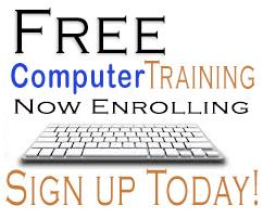 Sign up for free computer training