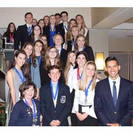 Buchholz DECA rocks at state!