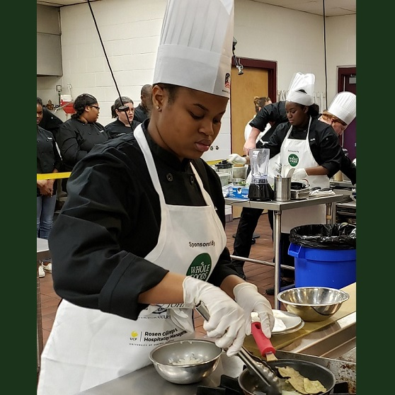 Eastside High culinary team named national finalists in NASA Astronaut Culinary Challenge