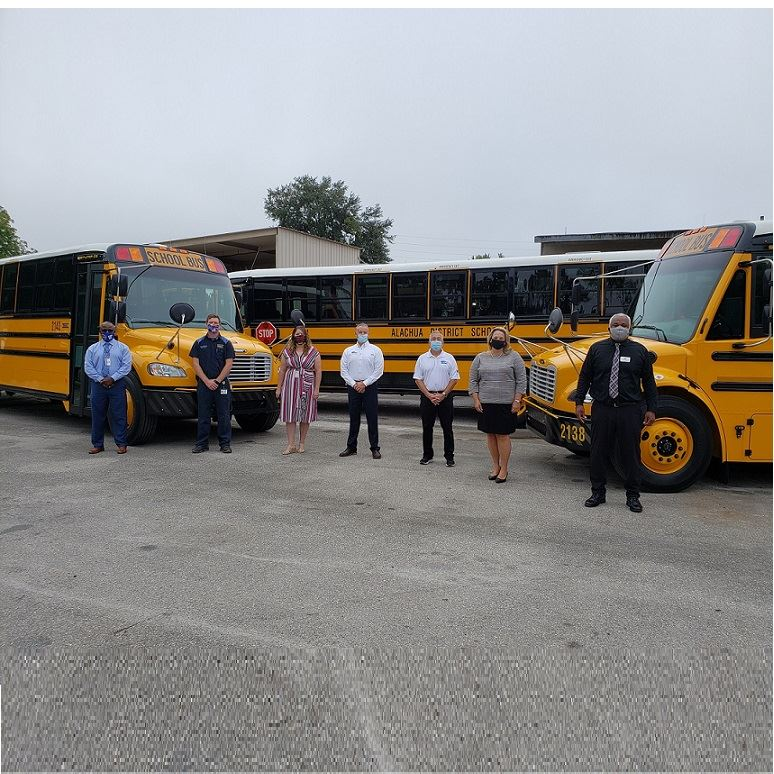 Alachua County Public Schools putting new buses on the road